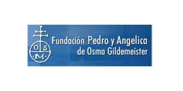 logo fundación Osma azul