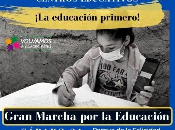 TODO ABIERTO EN EL PERÚ MENOS CENTROS EDUCATIVOS