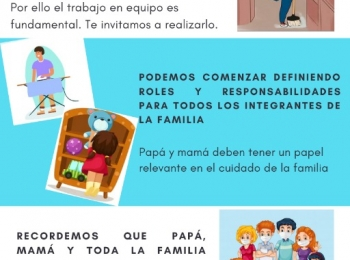 EL ROL DEL PAPÁ Y DE LA MAMÁ DURANTE LA PANDEMIA
