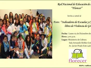 RED NACIONAL DE EDUCACIÓN DE LA NIÑA «FLORECER»