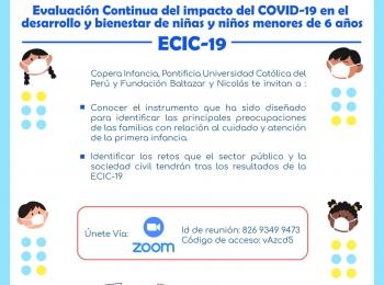 Evaluación Continua del Impacto del COVID-19 en el Desarrollo y Bienestar de niñas y niños menores de 6 años
