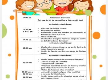 Feria «Las Niñas y Niños Primero»