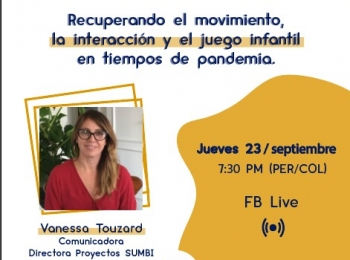 Ciclo de Diálogos: La Cuarentena por COVID-19 y el Desarrollo Infantil