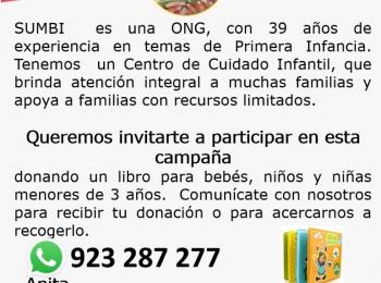 CAMPAÑA DE RECOLECCIÓN DE LIBROS