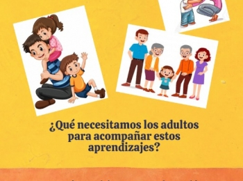 Las actividades de aprendizaje con tu hijo/a son importantes para su desarrollo integral