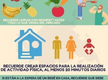 CONTINUEMOS CON LOS HÁBITOS SALUDABLES EN TIEMPOS DE COVID-19